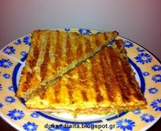 All about the Dukan diet: Bread for Dukan toast Points Plus Recipes, No Carb Recipes, Cookbook Recipes, Greek Recipes, Snack Recipes, Cooking Recipes, Diet Recipes, Wheat Belly Recipes, No Bread Diet