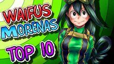 LAS 10 CHICAS MORENAS MAS HERMOSAS, SEXYS Y AMADAS DEL ANIME | TOP 10