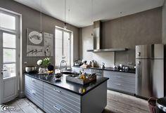 La cuisine fonctionnelle et chaleureuse de la décoratrice Béatrice Loncle