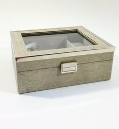 Watch and jewelry organizer box #gift #jewelry #jewelrybox #jewelrylover #giftideas