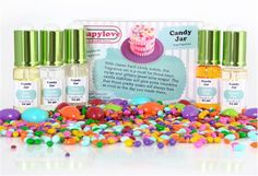 $14.20 Candy Jar Fragrance Set | Bramble Berry® Soap Making Supplies