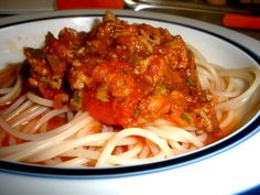 Low FODMAP spaghetti