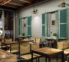Thiết kế nội thất Buu Cafe