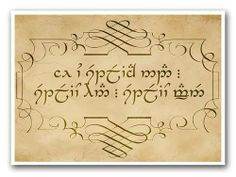 """Ae ú-esteliach nad…estelio han. Estelio ammen."" ""If you trust in nothing else, trust this. Trust us."" From Lord Of The Rings - The Two Towers, Sindarin Elvish, spoken by Arwen to Aragorn in a dream."