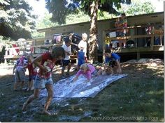 WFMW: How to Throw a Messy Party (The Best Summer Kids Gathering Youll Ever See!)