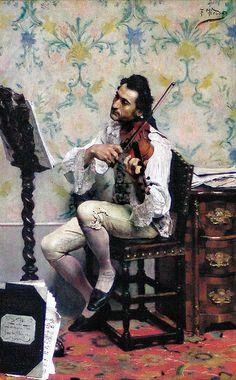 Fernando Tirado Y cardona | The violinist