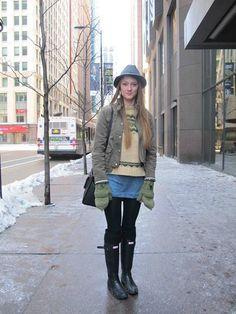 Chicago Winter Fashion On Pinterest Winter Street