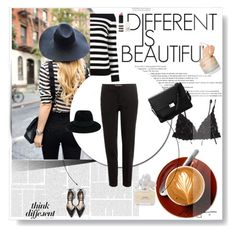 """""""BE Different!"""" by greenvalleynest ❤ liked on Polyvore featuring Hanky Panky, Maison Michel, Etro, Yves Saint Laurent, Zara, Marc Jacobs, Aspinal of London and Topshop"""