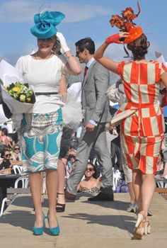 Hastings races: Fashion in the Field - Monika Neuhauser Millinery
