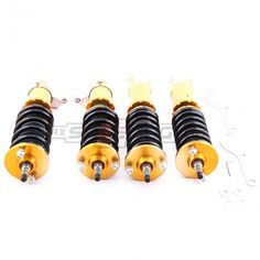 Honda Acura Civic 92-95 Integra 94–01 Coil Strut Adjustable Coilovers -  24 ways adjustable -  2 piece front + 2 pieces rear