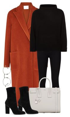 Lanvin, Frame, Jaeger, Yves Saint Laurent, Alexander Wang and Linda Farrow Winter Fashion Outfits, Fall Winter Outfits, Work Fashion, Autumn Winter Fashion, Classy Outfits, Stylish Outfits, Mein Style, Winter Mode, Mode Outfits