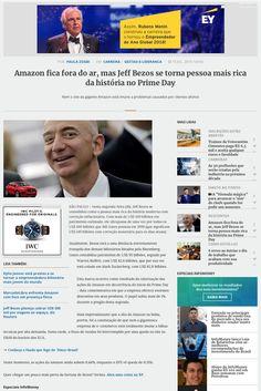 Frase XP no final da matéria de Jeff Bezos.