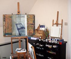 Photo Gallery: Inside Artists' Studios: Studio of the About.com Expert on Painting Marion Boddy-Evans