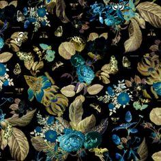 Floral Noir  · Studio misspiggy · Almofadas · R$55,00