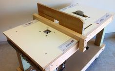 Portable 3-in-1 Workbench / Table Saw / Router Table Combo