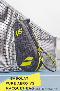 ✖️Holds 6-9 racquets ✖️Room for balls, towels, and a change of clothes ✖️Shoulder strap and top carry strap #tennis #tenniscourt #sports #rackattack
