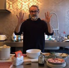 Kitchen Quarantine by Massimo Bottura // FOOD - THE Stylemate Fun Drinks, Eat, Kitchen, Mens Tops, Food, Cooking, Meal, Essen, Home Kitchens