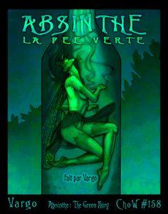 Absinthe The Green, Absinthe Fairies, The Green Fairy, Green Black Green Fairy Absinthe, Ad Art, Faeries, Vintage Posters, Liquor, Art Nouveau, Fantasy Art, Fairy Tales, Illustration Art