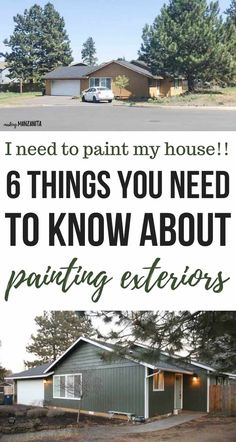 I need to paint my house exterior! Answers To Your Paint Questions I need to paint my house exterior! Answers To Your Paint Questions Danelle Tatum danellexo Home Improvement projects If you&;ve […] painting ideas Outside House Paint, Paint Your House, Home Renovation, Home Remodeling, House Painting Tips, House Paint Interior, Interior Doors, Exterior Paint, Diy Painting Exterior Of House