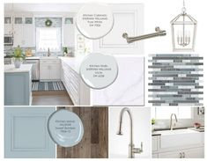 This listing is for a kitchen moodboard that will help identify the colors, style, hardware and fixtures for your kitchen. The process is simple - send examples of your style (and/or samples of what you like) and your needs for the space, and Ill provide a moodboard, including: - Paint color Kitchen Wall Colors, Kitchen Colour Schemes, Kitchen Paint Schemes, Kitchen Cabinet Paint Colors, House Color Schemes Interior, Cabinet Colors, Paint For Kitchen Walls, Best Kitchen Colors, Paint Colors For Kitchens