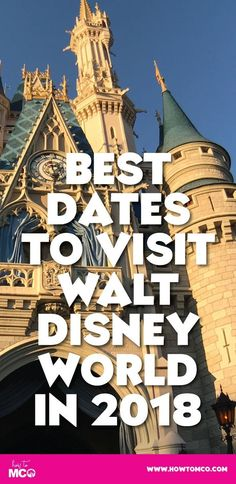 Ever wonder when is the best time to go to Disney World? Look no further than this guide to picking the best time to go on your Disney vacation. Walt Disney World Vacations, Disney Travel, Disney World Vacation Planning, Disney World Florida, Disney Resorts, Disney Planning, Disney Cruise, Florida Vacation, Vacation Ideas