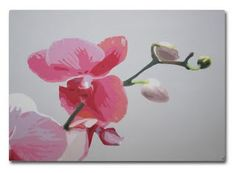 Orchid -painting.