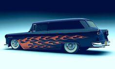 55 Chevy Sedan Delivery