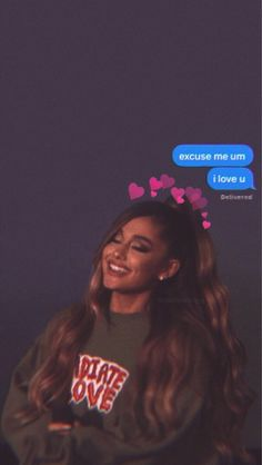 """Remember, the first time I met you and you came up to me in the locker room, you said, """"Oh, you look like Ariana Grande."""" AND IT IS LIKE RLY SHOR … - Background"""