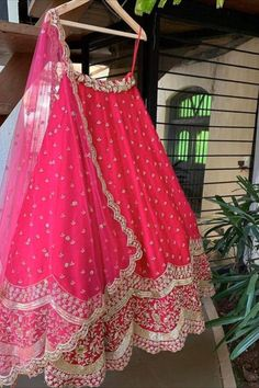 Buy Breathtaking Pink Georgette With Embroidered Work Lehenga Choli Design Online Pakistani Lehenga, Lengha Choli, Pink Lehenga, Saree Gown, Sarees, Party Wear Lehenga, Party Dress, Choli Designs, Embroidery Dress