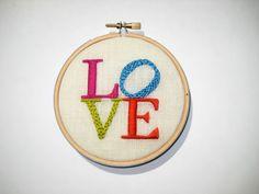 Hoop Art- Love