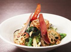 Okayama|Restaurant|かまどか 岡山店|大根と水菜のサラダ