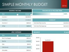 Free Excel Budget Template Xls  Excel Project Management