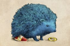 Sonic - Canvas Print by Eric Fan