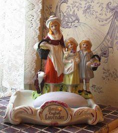 Yardley English Lavender soap dish   Flickr - Photo Sharing!