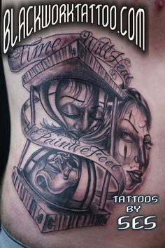 Ses @ Blackwork Tattoo Studio - Route 23 South, Little Falls, NJ