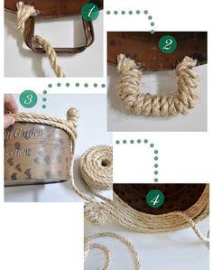 Centsational Girl »Blog Archive Sisal Rope Bowl - Centsational Chica