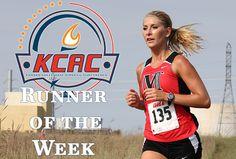 Frey Earns KCAC Runner of the Week