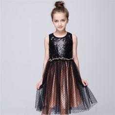 >> Click to Buy << Hot style tutu  colorful children geometric shiny vest dress girl princess party festival children #Affiliate