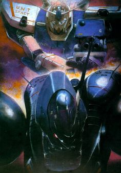 "shmuffalo: "" From Art of Mobile Suit Gundam War in the Pocket STANDBY OK by Kazuhisa Kondo. It's a pretty fantastic book. Gundam Wing, Gundam Art, 4k Ultra Hd Wallpapers, Outlaw Star, Japanese Robot, Gundam Wallpapers, Gundam Seed, Old Anime, Anime Art"