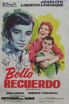 Folleto de JANO del film : BELLO RECUERDO. JOSELITO - LIBERTAD LAMARQUE.