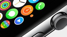 The Digital Crown lets you navigate Apple Watch fluidly and precisely.  기존 애플과 다른 새로운 모습의 아이와치 iwatch ... 다른 기업들의 웨어러블 와치와 차이를 보입니다.