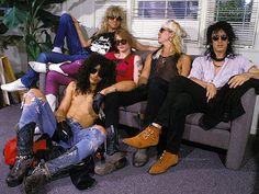 GNR Steven Adler Axl Rose Duff McKagan Izzy Stradlin Slash