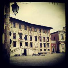 L'accesso a Piazza dei Cavalieri a #Pisa! #Tuscany #Italy