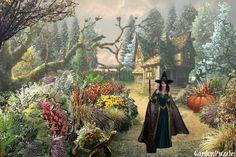 W oczekiwaniu na Halloween - GardenPuzzle - projektowanie ogrodów w przeglądarce