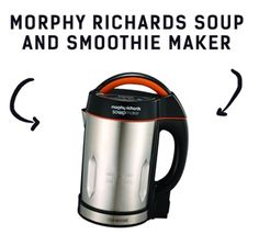 Soup Maker   Here is the Morphy Richards Soup #soupMakerRecipes #soupMaker #kitchenGadget #morphyRichards Morphy Richards Soup Maker, Smoothie Makers, Smoothies, Greek Yoghurt, Kitchen Gadgets, Food Inspiration, Buyers Guide, Recipes, Fabricant