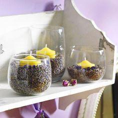 Lavendel-Deko - dufte Ideen für den Sommer - lavendel-windlichter  Rezept