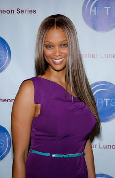 Ultra sexy Tyra Banks ...  A la mode Hairstyles...   In addition, she hosted The Tyra Banks Show, a daytime talk show aimed at younger women, which premiered on September 12, 2005, and ran until May 28, 2010