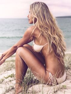 Perfect Beach Blonde Sunkissed Tranquility Live the Dream Chase the Ocean