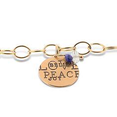 Reis-Nichols Jewelers : HEATHER MOORE 14K Yellow Gold Charm Bracelet #RNHolidayHitList