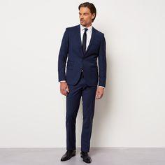 costume haize bleu cobalt homme izac - Izac Costume Mariage